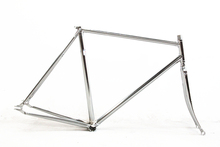 FIXED GEAR FRAME+FORK COLUMBUS CROMOR CHROMOLY LUG VINTAGE PURSUIT TRACK BIKE FRAMESET velo pursuit frameset custom-made fixie(China (Mainland))