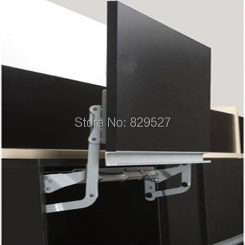 Soft open lift up Mechanism support system for cabinet cupboard closet door hinge damper microwave front panel(China (Mainland))