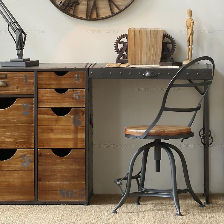 Creativa a la moda a hacer el viejo hierro forjado - Sillas barra americana ...