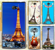Buy Selling Plastic Hard Phone Cases Sony Xperia M2 S50h Dual D2302 D2305 D2303 D2306 Eiffel Tower Phone Case Cover Shell for $1.44 in AliExpress store