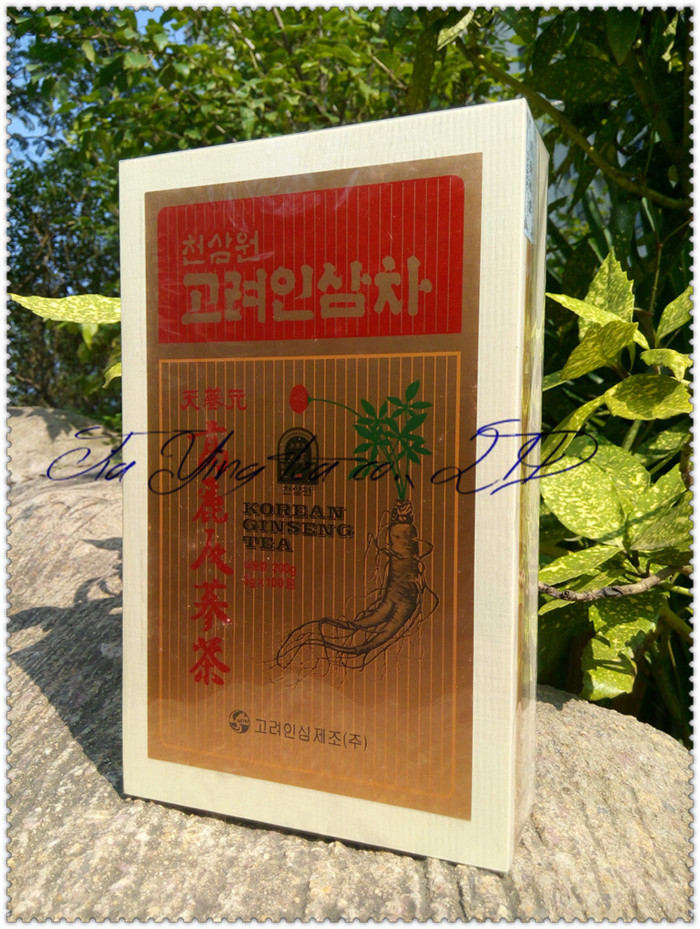 100bag 3g Office worker tea south korea dried goods local specialty grain tea product Panax Korean