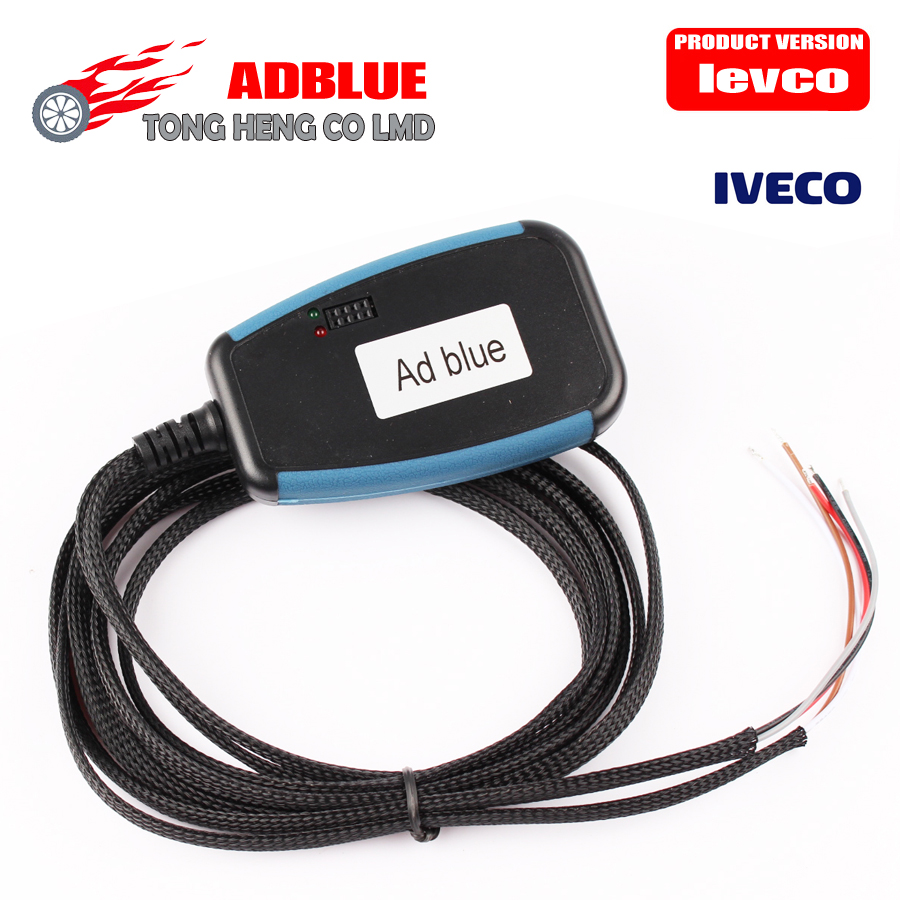 (10pcs/a lot DHL free) IVECO AdBlue Emulator with AdBlue IVECO used in trucks and other heavy trucks free shipping(China (Mainland))