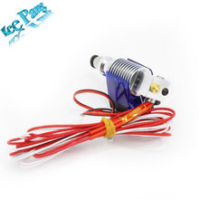 3D Printer J-head Hotend E3D V5 with Single Cooling Fan for 1.75mm/3.0mm  Direct Filament Wade Extruder 0.2mm/0.3mm/0.4mm Nozzle