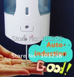500ml Bathroom Kitchen Automatic Sensor Touchless Liquid Soap Dispenser Hotel Home Auto-induction Soap dispenser Free Shipping