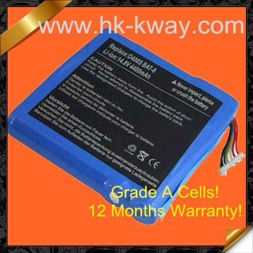 Free shipping! 8 cell 4400mah LAPTOP BATTERY Bateria FOR Clevo D Series Desknote D Series Portanote D Series QXS-BAT-ION KB19005