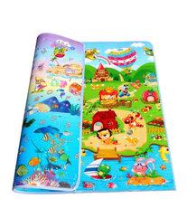 Free Shipping Baby Play Mat Crawling Carpet Waterproof Outdoor Play Mat Pad Foam Children Carpet Cartoon Kids Mats Wholesale(China (Mainland))