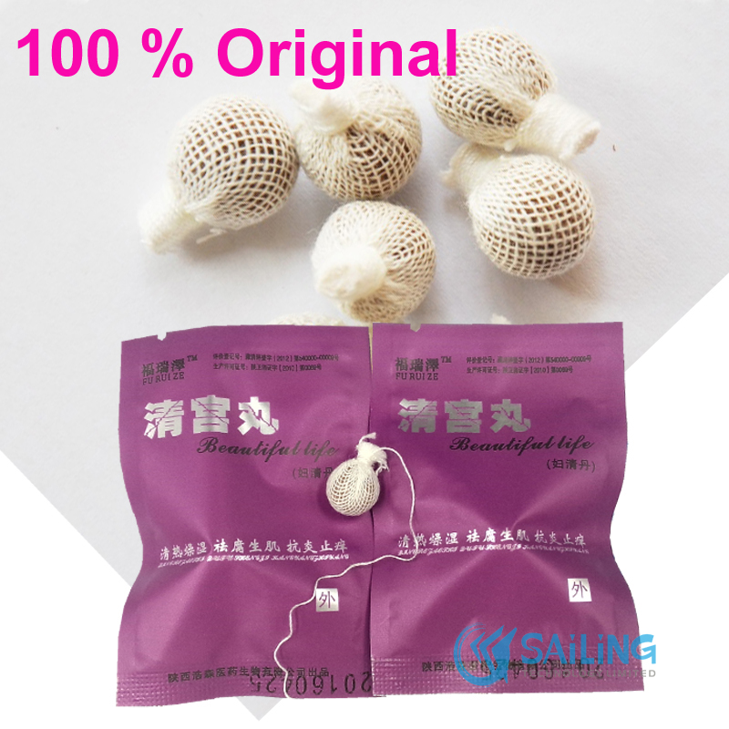 10 pcs /lot Beautiful life swab women female vaginal repair herbal tampons products vaginal clean point tampon(China (Mainland))