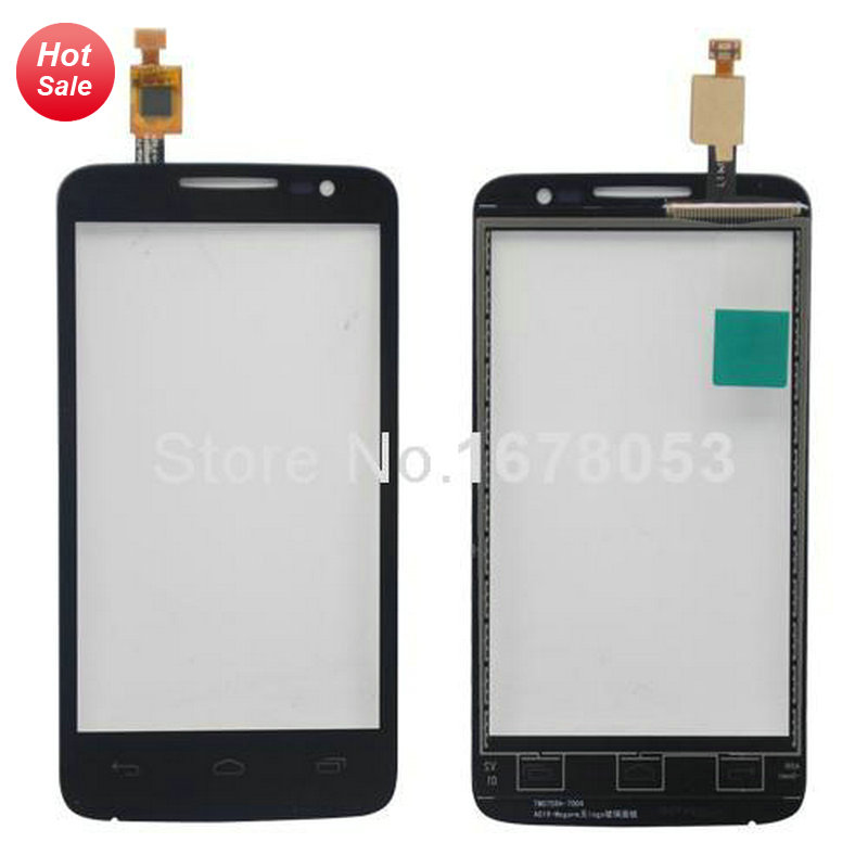 Touch Screen Digitizer Glass For Alcatel One Touch M'Pop OT5020 5020 5020D OT-5020 black