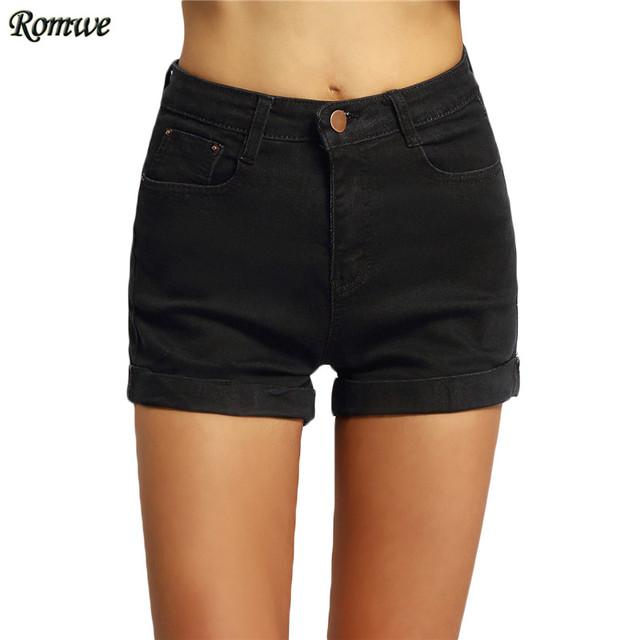 Romwe горячая распродажа женский новое поступление одежда модная улица манжетой кнопка ...