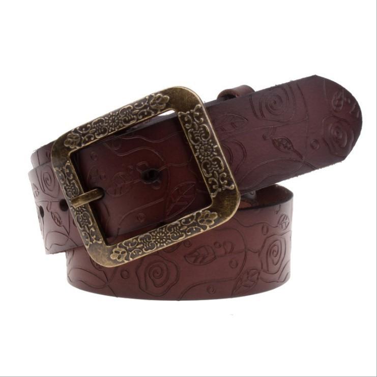 2015 vintage genuine leather belts for western