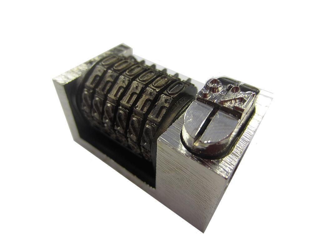 numbering machine for letterpress