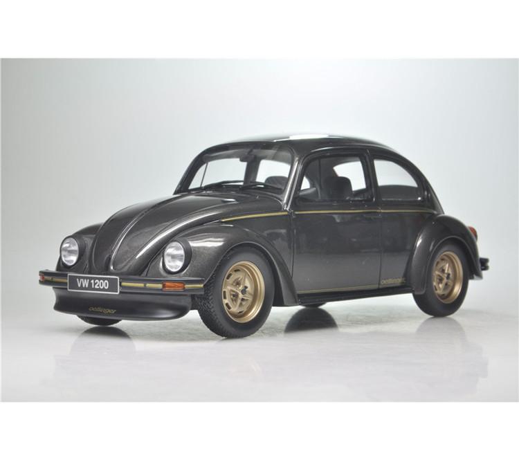 1:18 OTTO VW 1200 Old Volkswagen Beetle Car Model-in