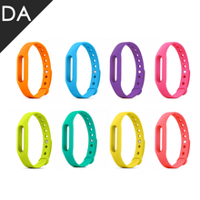 50pcs/lot Xiaomi Miband 1 1S Replace Wristband Sillicone 10 colors Belt Strap Mi Band 1S Bracelet Replacement Band Accessories