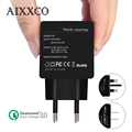 AIXXCO Quick Charge 3 0 Quick Charge 2 0 Compatible 18W USB Charger Smart Fast