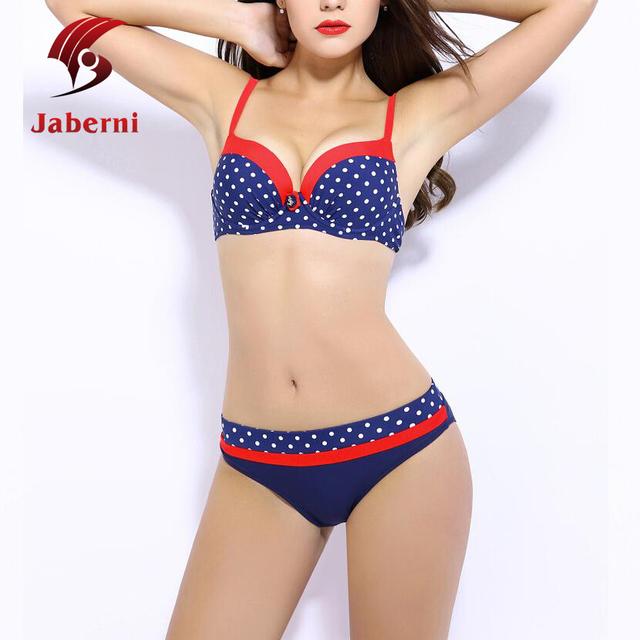 Лето тело в форме сладкий купальники для девочек горошек бич ремень комплект бикини милый лоскутная корейски женщин купальнике прошитой-br