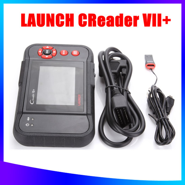 2015 100% Original Auto Code Reader 7+ Launch X431 Creader VII+ Equal To CRP123 Update Via Offical Website DHL/EMS Free Shipping(China (Mainland))