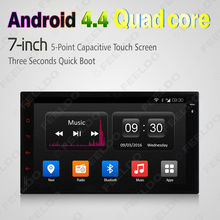 """7""""inch HD 1024*600 Universal Android 4.4.4 Quad Core Car Media Player With GPS Navi Radio For Nissan/Hyundai 2DIN ISO #CA2421H(China (Mainland))"""