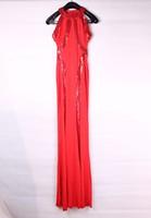 Красота онлайн новое летнее платье сексуальный достойное вышитые cheongsam мини-винтажное платье lc2963