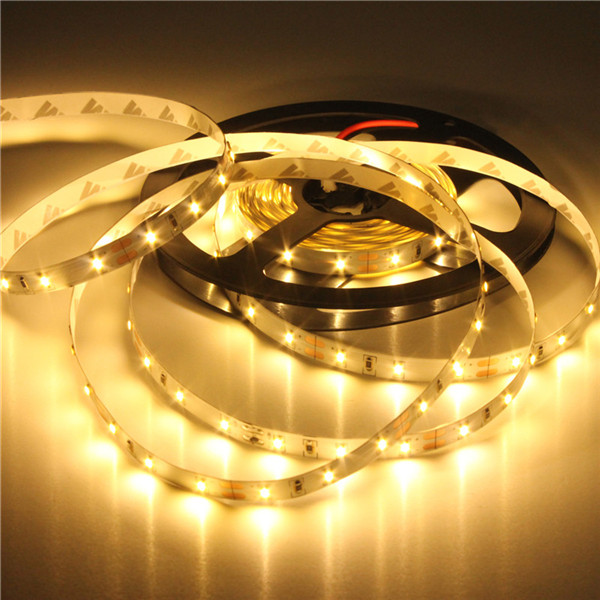 Excellent Quality 5M 3014 SMD 300 LED Flexible Strip Tape Light Lamp Warm White Non-Waterproof 60led/m DC12V Christmas Lights(China (Mainland))