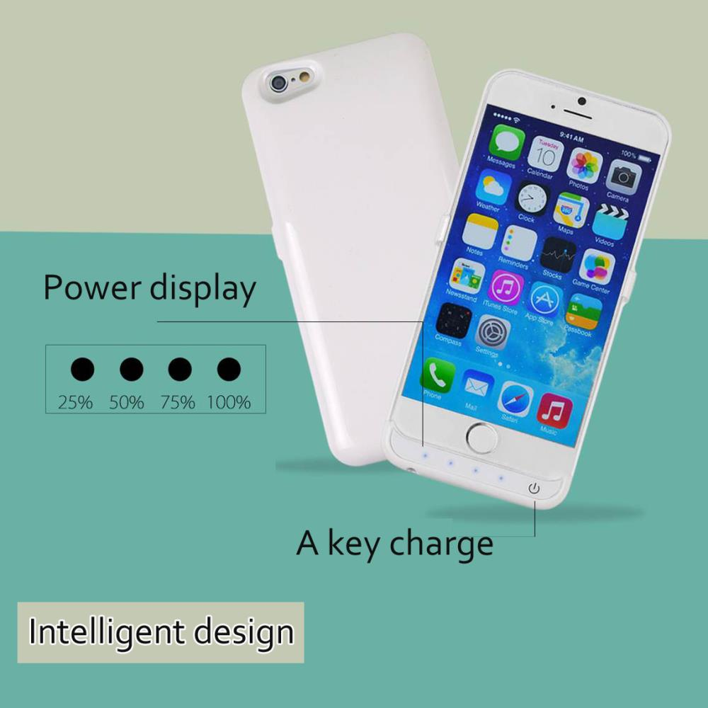Brand New 3200 mAh External Battery Backup Charger Case Pack Power Bank Cover for iPhone 6 4.7 inch iPhone6(China (Mainland))