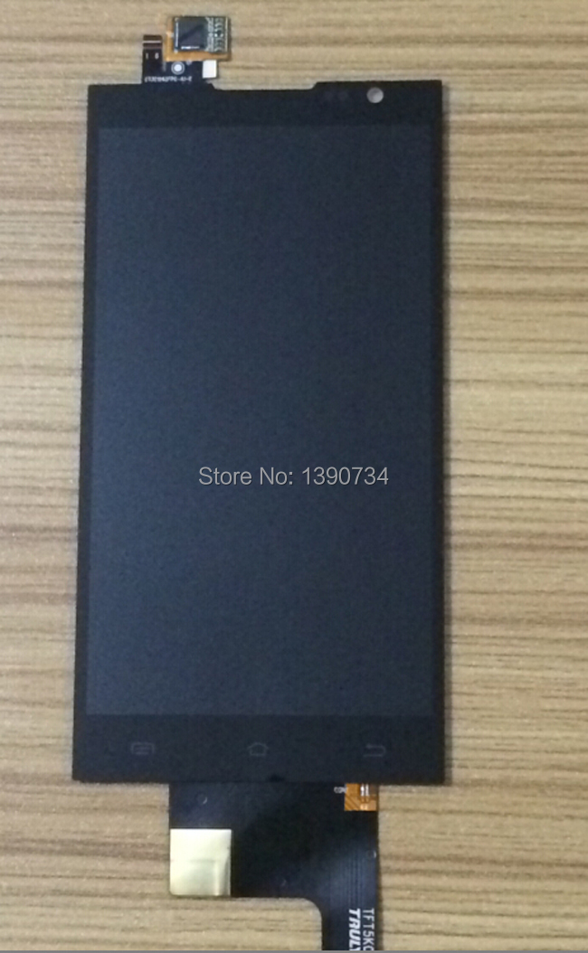 Высокое качество новый жк-дисплей сенсорный экран планшета ассамблеи для JIAYU F2 черный замена F2 запчасти бесплатная доставка