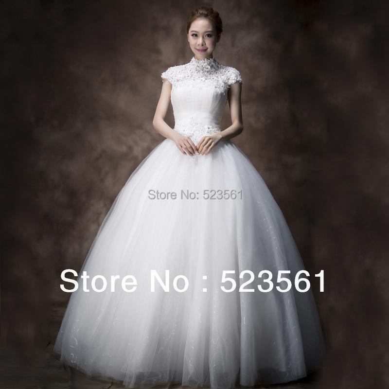 Wedding Dress Halter Neck Lace 96