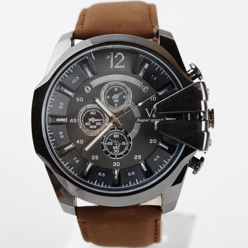 2016 new luxury brand v6 sport watches