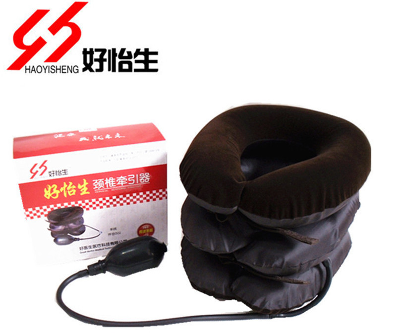 Package Postal Quality Goods Yi Household Cervical Vertebra Healthcare Massage Tractor Inflation Good happy life Neck(China (Mainland))