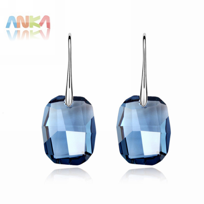 free shipping crystal  Earrings made with Swarovski Elements #89619<br><br>Aliexpress