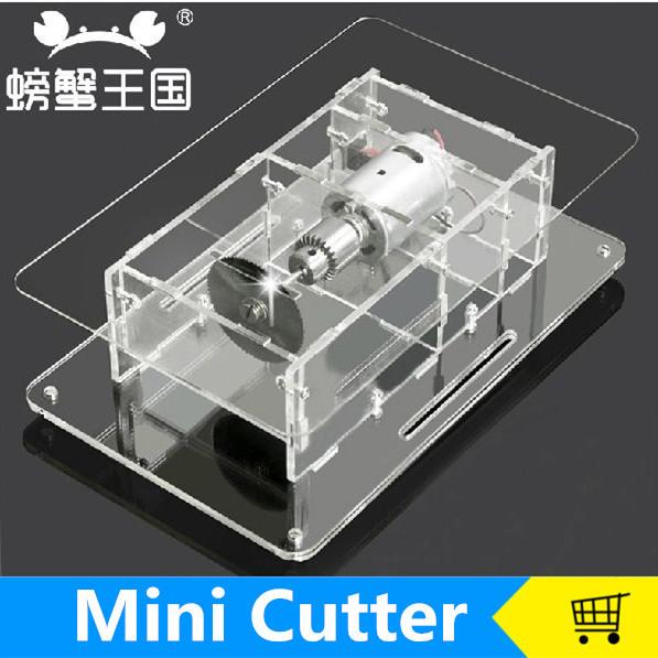 Meja Mini Melihat Bahan Model Diy Tangan Mesin Pemotong