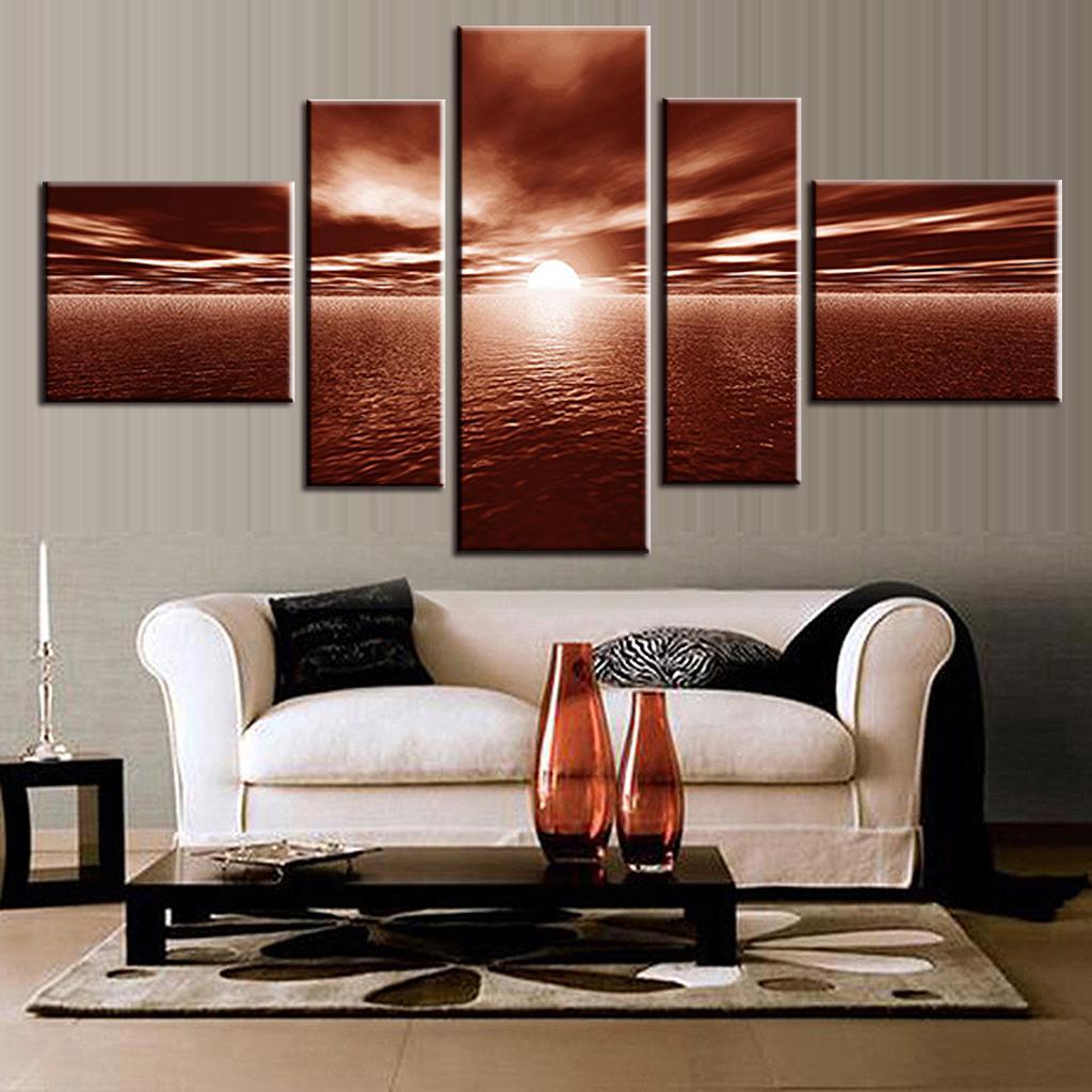 Mooi behang - Trend schilderij slaapkamer ...