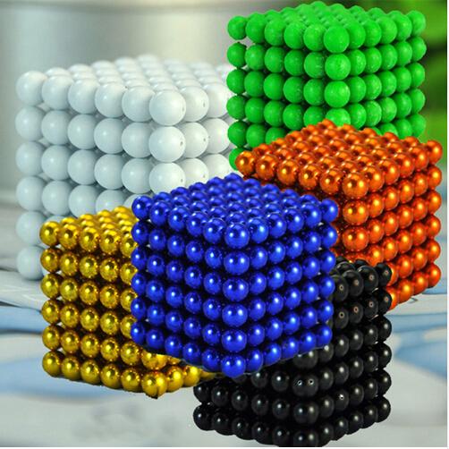 3MM 216pcs Metaballs Magnetic Balls Magnet Neo Cube Magic Toys New Year Gift Xmas Christmas Gift Magico Cubo Metal Box+Bag+Card(China (Mainland))