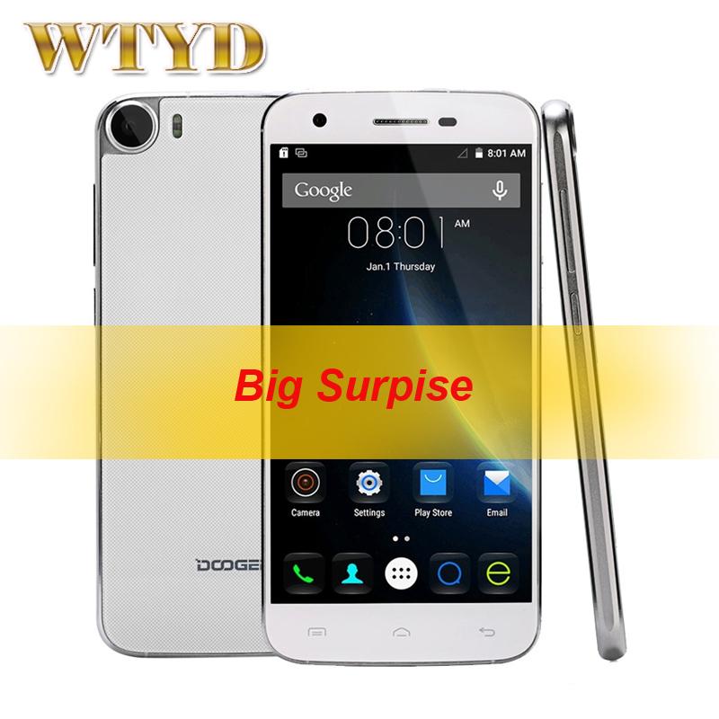 DOOGEE F3 Smartphone ROM 16GB+ RAM 2GB Network 4G Smart Gestures 5.0'' Android 5.1 MT6753 Octa Core 1.3GHz OTG OTA(China (Mainland))