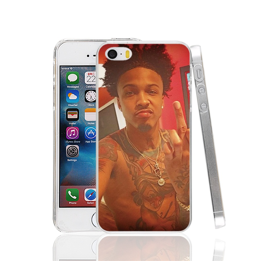 00529 august alsina eye Pattern Cover cell phone Case for iPhone 4 4S 5 5S SE 5C 6 6S 7 Plus(China (Mainland))