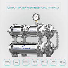 Buy Factory EIREE Stainless steel 304 & 316 housing UF water purifier 500L/H UF terminal purification home use for $99.00 in AliExpress store