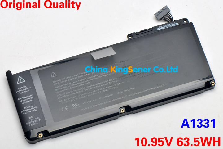 "Фотография Original Quality New Laptop Battery for Apple Macbook 13.3"" MC234LL/A MC207 MC516 A1331 A1342 020-6809-A 020-6580-A"