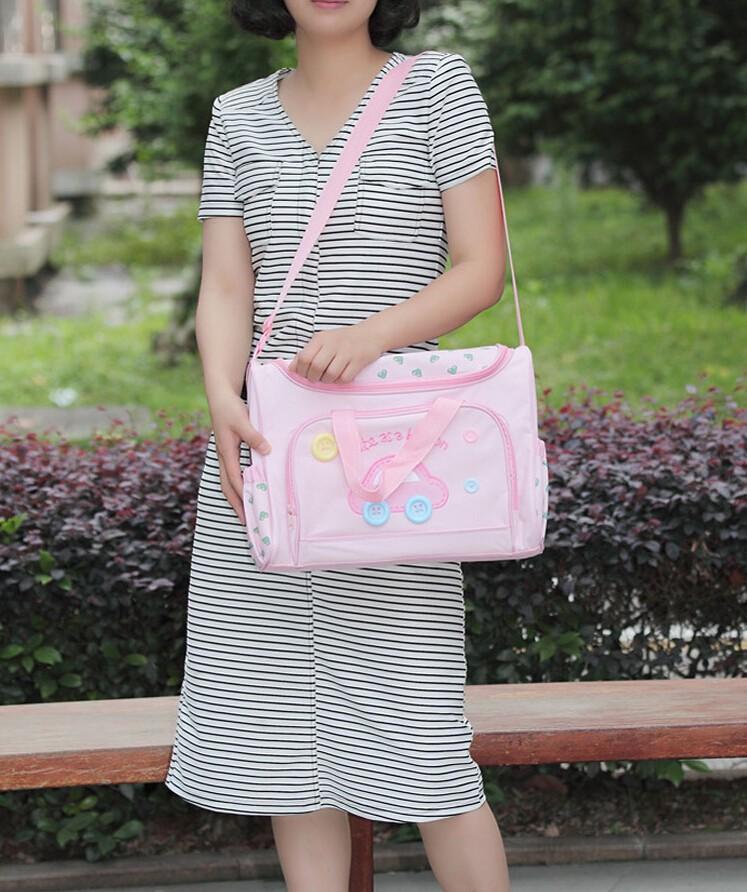 3 шт./компл. по беременности и родам сумки детские мумия, Детские сумка для, Многофункциональный пеленки мешок установить подгузник младенческой сумки плеча