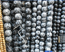 Buy Free Snowflake Obsidian Beads Round Selectable Size 4 6 8 10mm,Natural Stone Beads Jewelry Making Diy Bracelet ) for $1.29 in AliExpress store