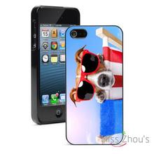 Jack Russel Beach Chair back skins mobile cellphone cases for iphone 4/4s 5/5s 5c SE 6/6s plus ipod touch 4/5/6