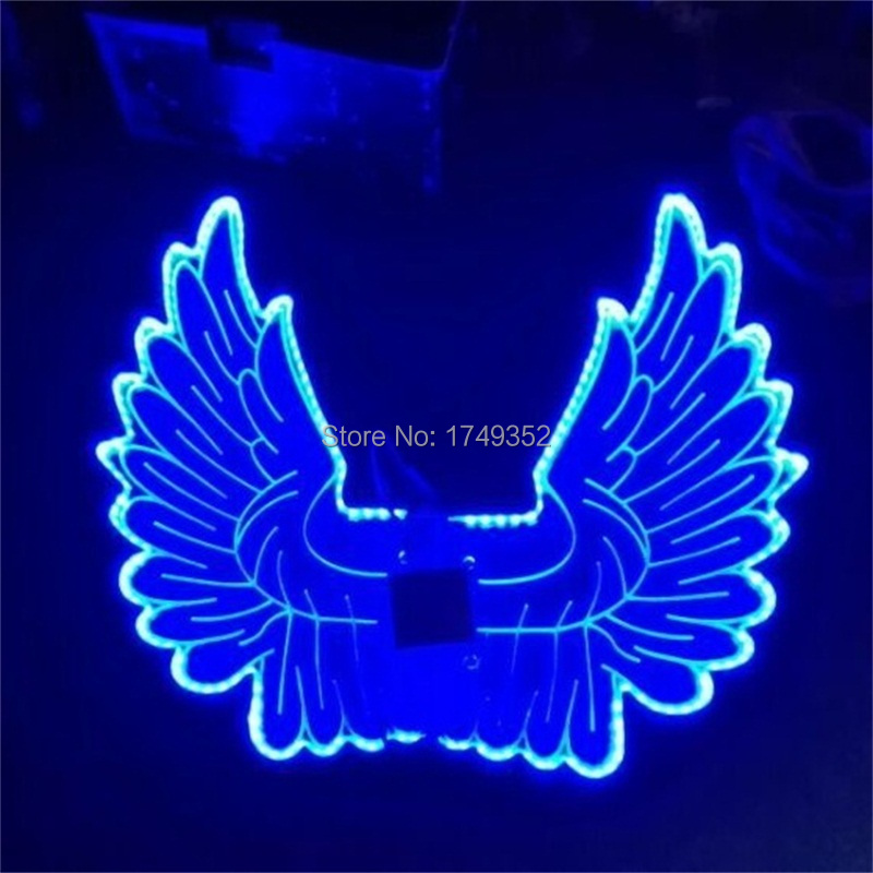 how to make led butterfly wings