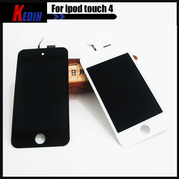 White iPod Touch 4th 4 GEN LCD display replacement with Touch Screen glass digitizer Assembly with opening tools free shipping(China (Mainland))