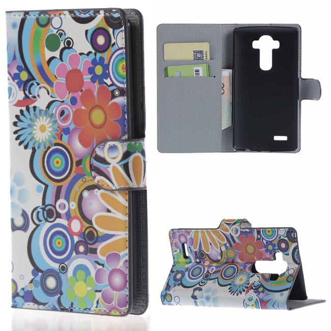 covers;cases NEW Butterfly Shape Flip Stand PU leather Wallet Phone Case with Card Holder For LG G4 hot buy(China (Mainland))