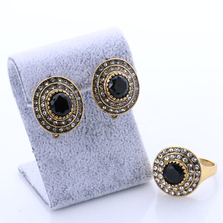 Popular Buy A Pair Black Jewelry Retro Style Long Dangle Earrings For Women