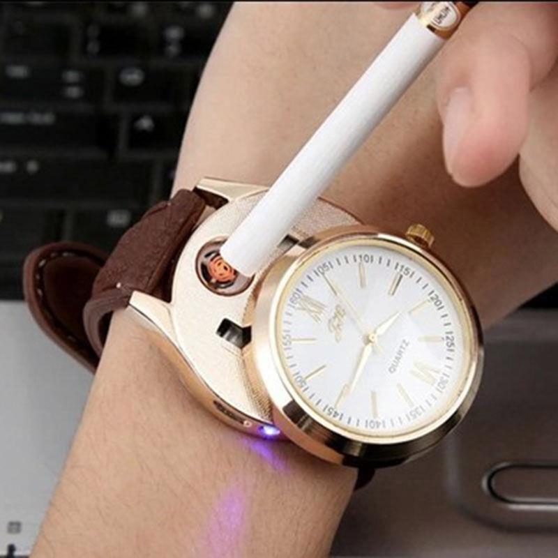ถูก สร้างสรรค์นาฬิกาUSBแบบชาร์จไฟอิเล็กทรอนิกส์เบาบุคลิกภาพเป็นมิตรกับสิ่งแวดล้อมแสงแบบชาร์จไฟได้HG0316