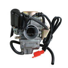 Motorcyle Carburetor For Honda GY6 125 CC ATV 125 PD24J Scooter Go Kart Wildfire