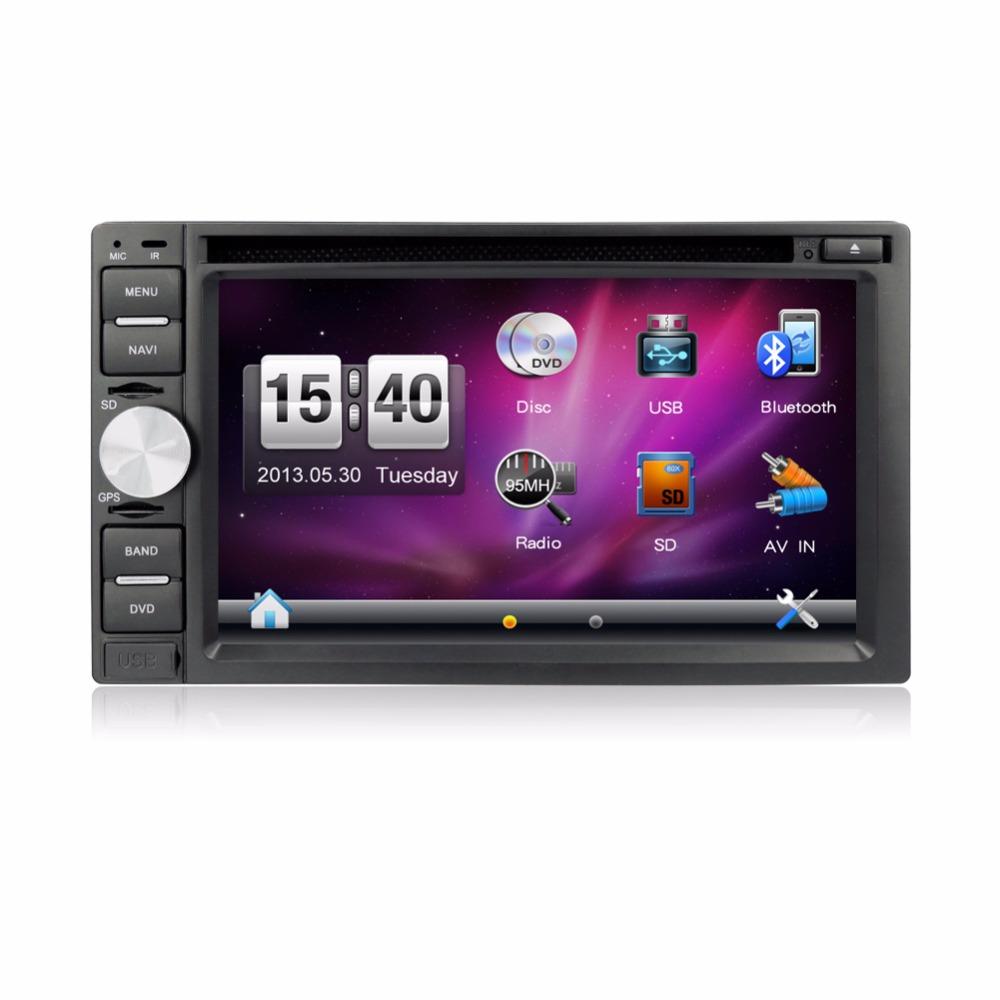 GPS Navigation Double 2din Car Radio Car Console Car Radio Car DVD IN-DASH FM Reciever USB/SD(China (Mainland))
