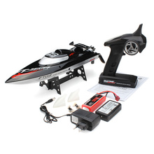 FT012 Upgraded FT009 2.4G Brushless RC Racing Boat Black F15278(China (Mainland))