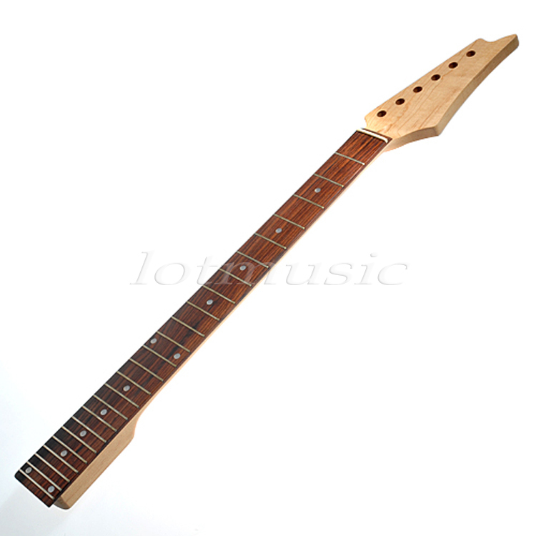 One Nice 24 Fret Electric Guitar Neck Square Heel Rosewood Fretboard(China (Mainland))