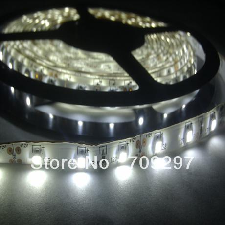 5m 300LED 3528 SMD waterproof 12V flexible light 60led/m LED strip, white/warm white/blue/green/red/yellow/RGB + free shipping