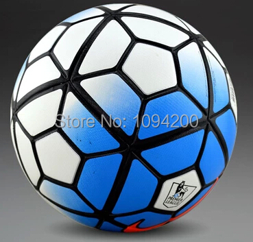 Hot Sale High quality 15-16 New The 10th premier Soccer ball football PU size 5 anti-slip ball Free Shipping(China (Mainland))